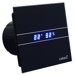 Вентилятор накладной Cata E-100 GTH BK